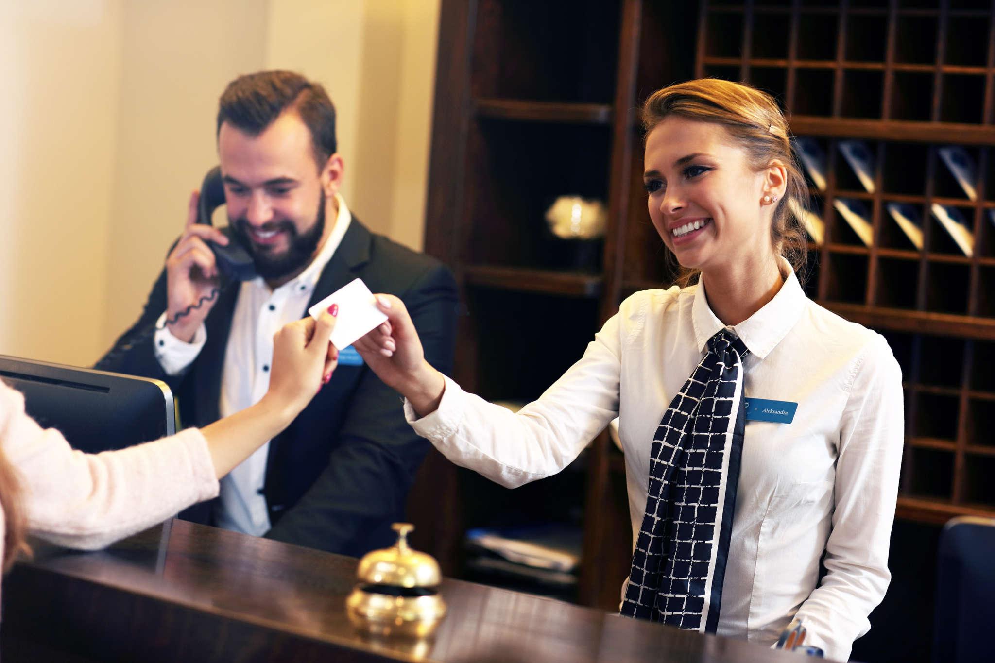 Accoglienza albergo