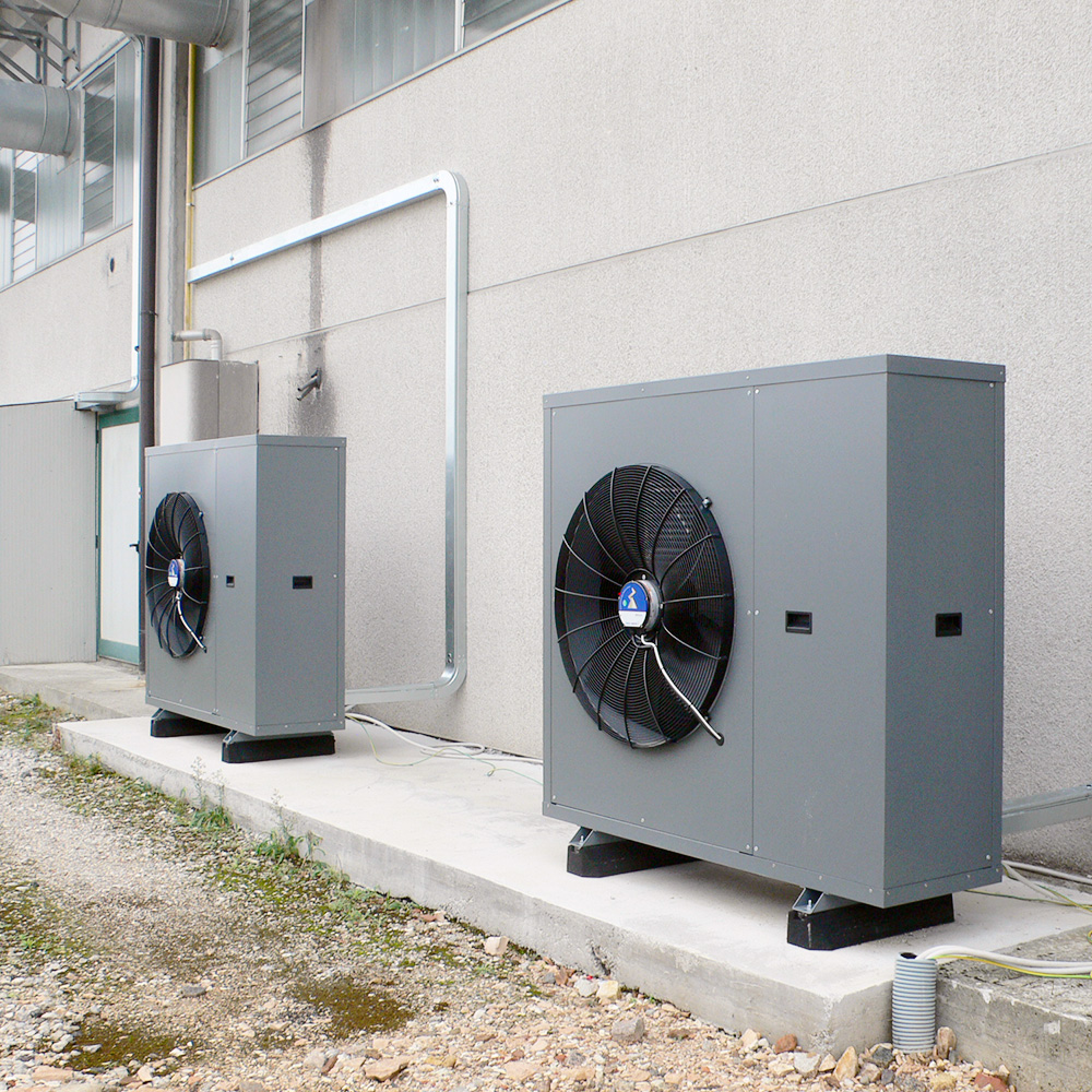Doppia unità esterna di pompa di calore aria aria